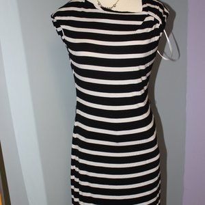 Calvin Klein Striped T-shirt Dress Size 6